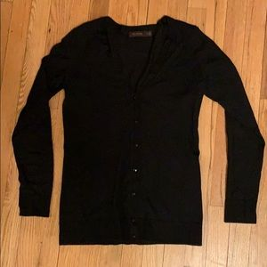 The Limited Black Cardigan with Sparkly Buttons